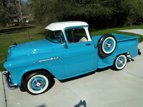 1956 Chevrolet Pickup Deluxe Cab Sold